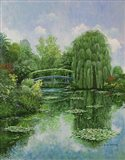 Monet Garden IV Art Print