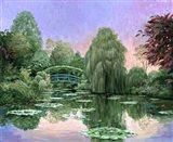 Monet Garden V Art Print