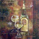 Chardonnay Lettered Art Print
