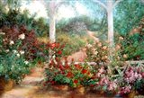 Come To The Garden Art Print