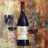 Napa Valley Pinot Art Print