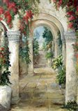 The Arched Entrance Art Print