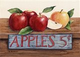 Apples 5 Cents Art Print