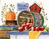 Apples Grapes & Pumpkins Art Print