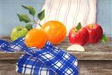 Apples To Oranges Art Print