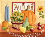 Autumn Table Art Print