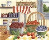 Berries and Cream Art Print