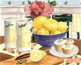 Fresh Lemonade Art Print