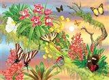 Butterflies Out On A Limb Art Print