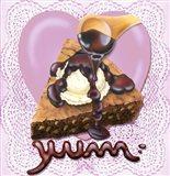 ChocolateYum Art Print