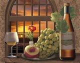Pinot Noir At Sunset Art Print