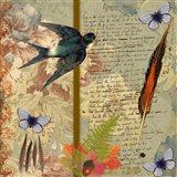 Autumn Flora & Fauna Art Print