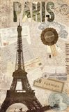 Sepia Paris Art Print
