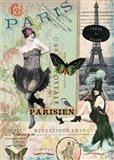 April in Paris Art Print