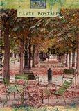 Autumn Tuileries Art Print