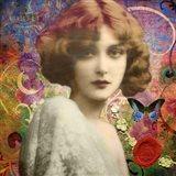 Mademoiselle Amour Art Print