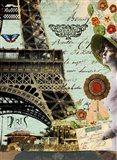Paris Dream Scape Art Print