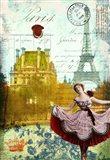 Rive Gauche Revue Art Print