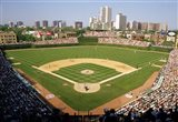 High Angle View Of A Stadium, Wrigley Field, Chicago, Illinois Art Print