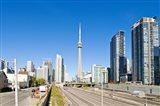CN Tower, Toronto, Ontario, Canada 2013 Art Print