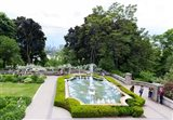 Casa Loma Gardens, Toronto, Ontario, Canada Art Print
