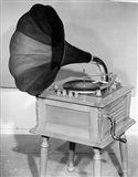 1950s Vintage Gramophone Converted To Furniture Art Print