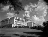 1960s Capitol Building Senate House Representatives? Art Print