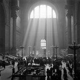 1930s 1940s Interior Pennsylvania Station New York City? Art Print