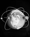 1960s Model Of Earth Art Print