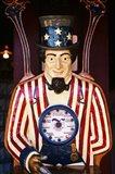 1890S 1900S 1910s Folk Art Uncle Sam Amusement Arcade Art Print