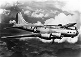 1940s World War Ii Airplane Boeing B-17E Bomber Art Print