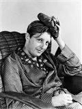 1940s Smiling Man With Hangover Art Print