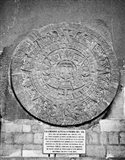 Aztec Calendar Stone Of The Sun Art Print
