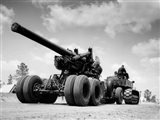 1940s Army Track Laying Vehicle Art Print