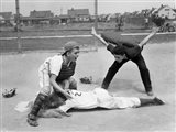 1950s Little League Umpire Art Print