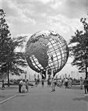 1964 New York World's Fair Unisphere Flushing Meadows NY Art Print