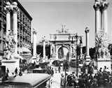 Triumphal Plaster Arch Columns Celebrate Commodore Dewey Manila Victory Spanish American War Madison Square Park NY Art Print