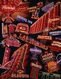 The Strip Neon Signs Las Vegas Art Print