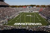 Spartan Stadium, Michigan State University Art Print