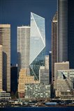 Modern Architecture In City, Seattle, Washington Art Print