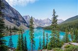 Scenic Mountainous Landscape Of Banff National Park, Alberta, Canada Art Print