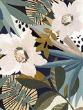 Floral Symphony II Art Print
