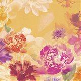 Vintage Floral I Art Print