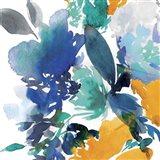 Indigo Flower II Art Print