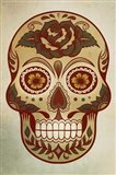 Day of the Dead Skull I Art Print