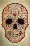 Day of the Dead Skull II Art Print
