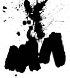 Ink Blot II Art Print
