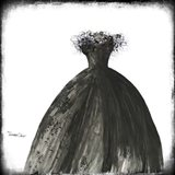 Black Dress I Art Print