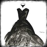 Black Dress II Art Print