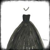 Black Dress III Art Print